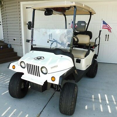 2018 JEEP LOW SPEED VEHICLE STREET LEGAL GOLF CART 48 Volt AC Drive LSV
