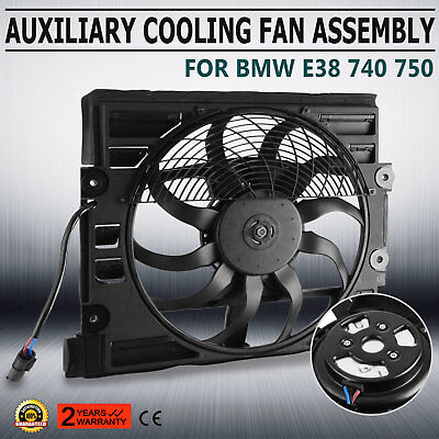 CE 64548380774 For BMW New Cooling Fan Assembly 740 750 E38 7 Series Can