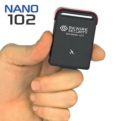 Genuine GPS Tracker Magnetic Car Vehicle Personal Tracking Device 102-NANO TK102
