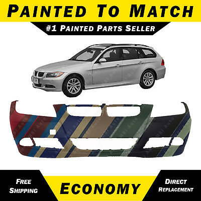 NEW Painted to Match - Front Bumper Cover For 2006 2007 2008 BMW 3 Series