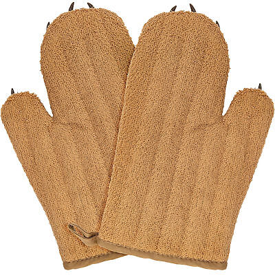 Cute Bear Claw Potholders Set - The Best Funny Oven Mitts for Christmas