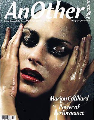 AnOther #18 MARION COTILLARD Eniko Mihalik RASA ZUKAUSKAITE Frida Gustavsson