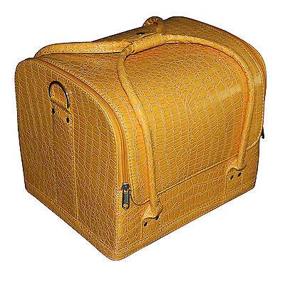 Beauty case Kosmetikkoffer, Multikoffer, Schminkkoffer Nagelstudio set Gelb