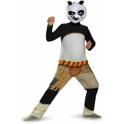 Kung Fu Panda Po Child Halloween Dress Up / Role Play Costume - Kung Fu Panda Halloween Costumes