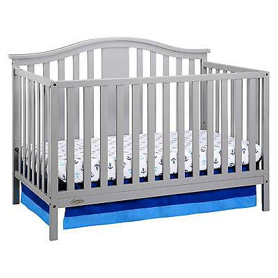 Graco Solano 4in1 Convertible Crib with Bonus Mattress
