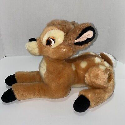 Disney Store Exclusive Bambi Plush Stuffed Animal Soft Cuddle Toy Reindeer EUC