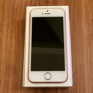 16GB iPhone SE (Rose Gold, Unlocked) - Apple Care +