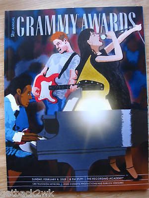 2009 GRAMMY AWARDS 51st PROGRAM GRAMMYS COLDPLAY ADELE
