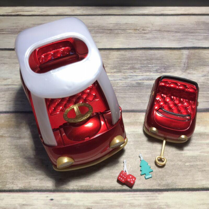 LOL Surprise Doll RED COZY COUPE CAR FURNITURE SET Dolls MINI COOPER Dice Tree