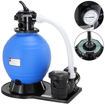 Depuradora bomba de filtro de arena 15.900l/h 600V para filtración agua piscinas