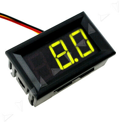 0.56 Mini Dc 0-99v 3-wire Voltmeter Green Led Display Volt Digital Meter Panel
