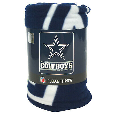 New NFL Dallas Cowboys Star Logo Soft Fleece Throw Blanket 50