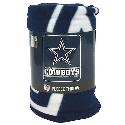 New NFL Dallas Cowboys Star Logo Soft Fleece Throw Blanket 50