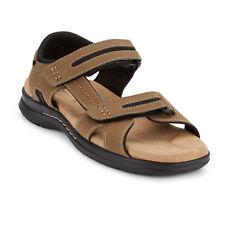 买和卖 Dockers Men's Solano Distressed Rubber Sole Gladiator Sandal Shoe 靠近我
