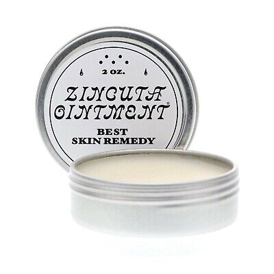 Zincuta Skin Healing Ointment, 2 oz.  Dry Skin Ointment