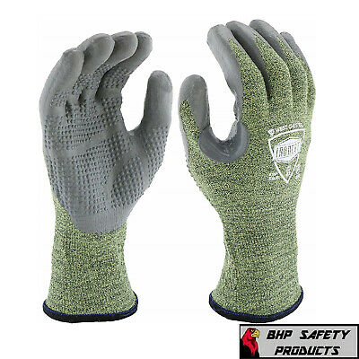 West Chester Ironcat 6100 Fire Resistant Silicone Coated Palm Knit Welding Glove