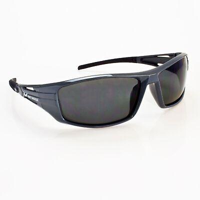 Polarisationsbrille Polbrille Sonnenbrille Angelbrille BAT-Tackle grau/schwarz