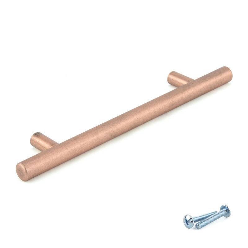 M4TEC Copper Kitchen Cabinet Door Handles Cupboard Drawer Bedroom Furniture Pull
