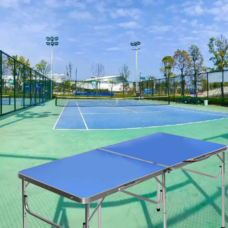Outdoor and Indoor Tennis Table Ping Pong Sport Size Family Party with Net