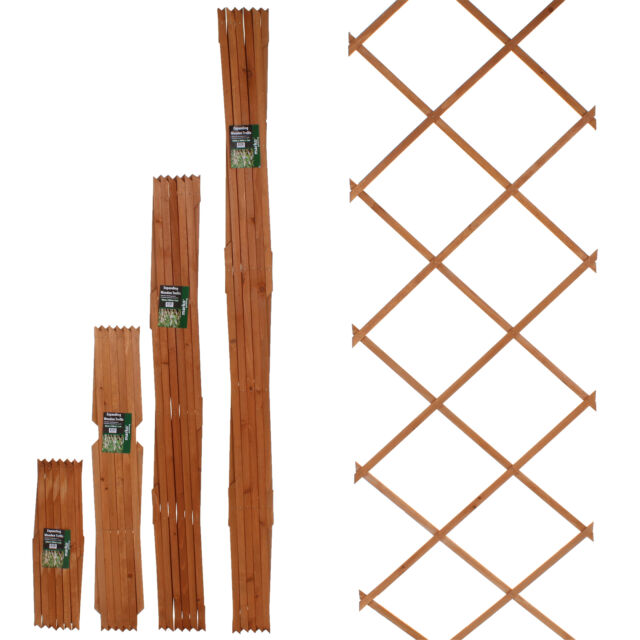 6FT Expanding Trellis Wooden Adjustable Expandable Garden Outdoor Climbing  Plant