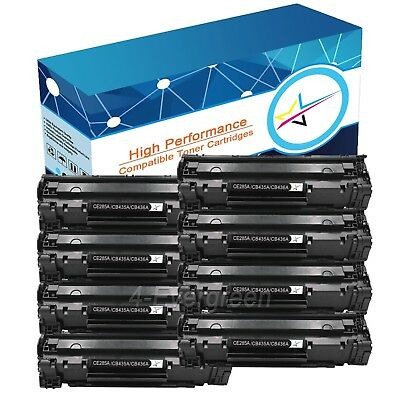 8 Combo Pack High Yield Black Toner CB435A 35A for HP Laserjet P1006 P1005 H.Y