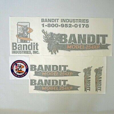 Brush Bandit Wood Chipper Model 254xp Decal Kit