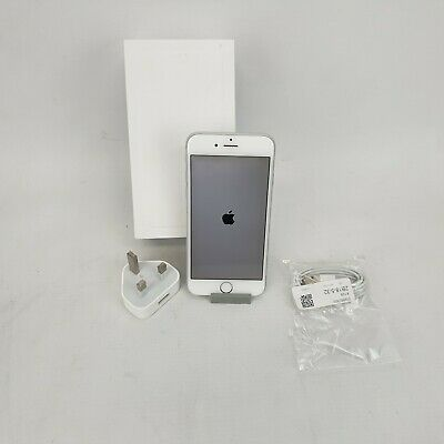 Apple iPhone 6 - 16GB - Silver (O2)-  A1586 - 75% BH (CDMA + GSM) #10028801