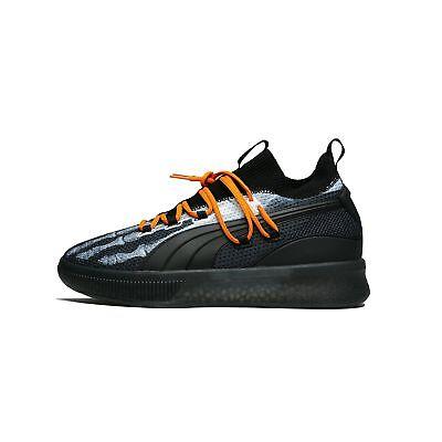 Halloween Court (Puma Clyde Court Disrupt X-Ray Halloween Black Orange Basketball Men)
