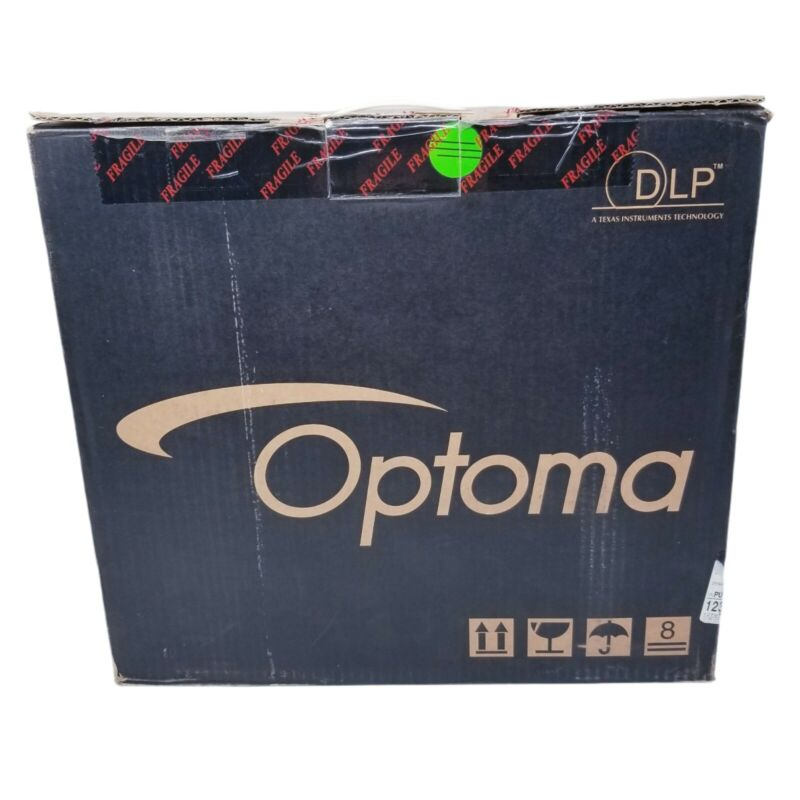 Optoma Projector DLP H31 New Open Box Complete