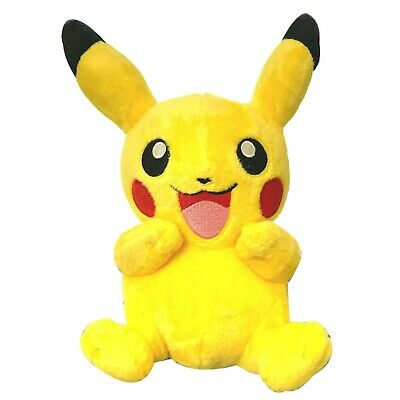 "9"" Pikachu Plush Stuffed Animal Pokemon Doll Toy"