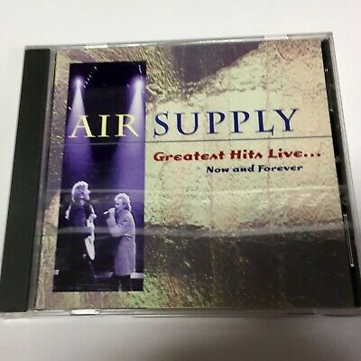 Air Supply Greatest Hits Live Now And Forever CD NM US 1995 Soft Rock Pop