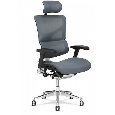 X3 Atr Mgmt Chair With Headrest X-wheel And Massage - Grey A.t.r Color
