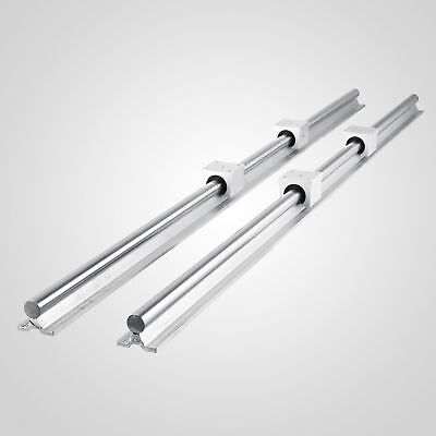 Sbr12 1500mm Supported Linear Rail Shaft Rod With 4 Pcs Sbr12uu New Arrival