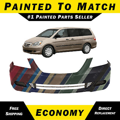 NEW Painted To Match- Front Bumper Cover Replacement 2005-2007 Honda Odyssey Van