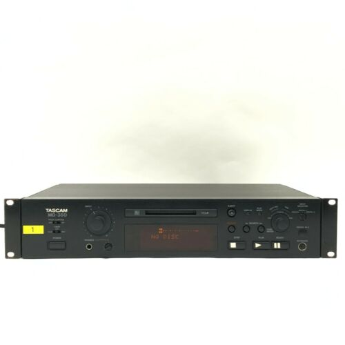 Tascam MD-350 MiniDisc Player-Recorder From Japan