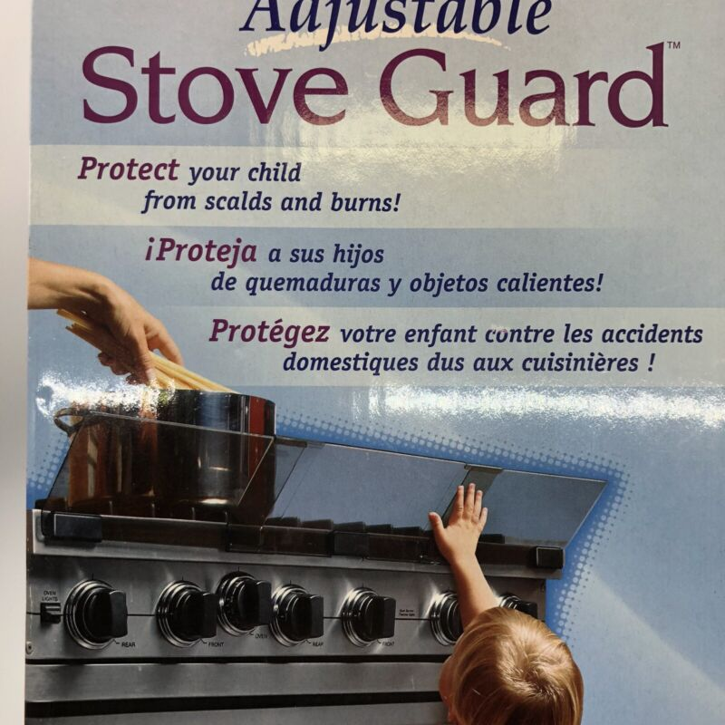 Open Box Prince LionHeart STOVE GUARD adjustable Baby Safety Protection Kid Safe