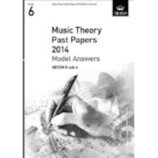 Theory of Music Exams Grade 6 Model Answers 2014 ABRSM Book S97
