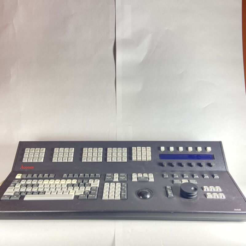 Accom Inc. Axial Control Panel for Video Editing *Untested*