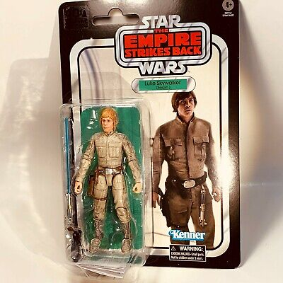 STAR WARS BLACK Series 40th Anniversary ESB LUKE SKYWALKER BESPIN 6in Figure