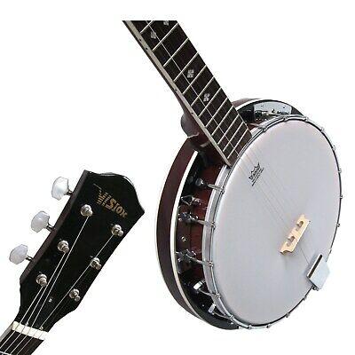 Banjo BJ6-6-saitiges, Mensur 65,8cm, Remo Weatherking-Fell,Randeinlagen,by