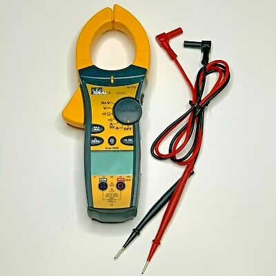 Ideal 61-775 1000a Acdc Trms Clamp Voltage Meter W Tightsight