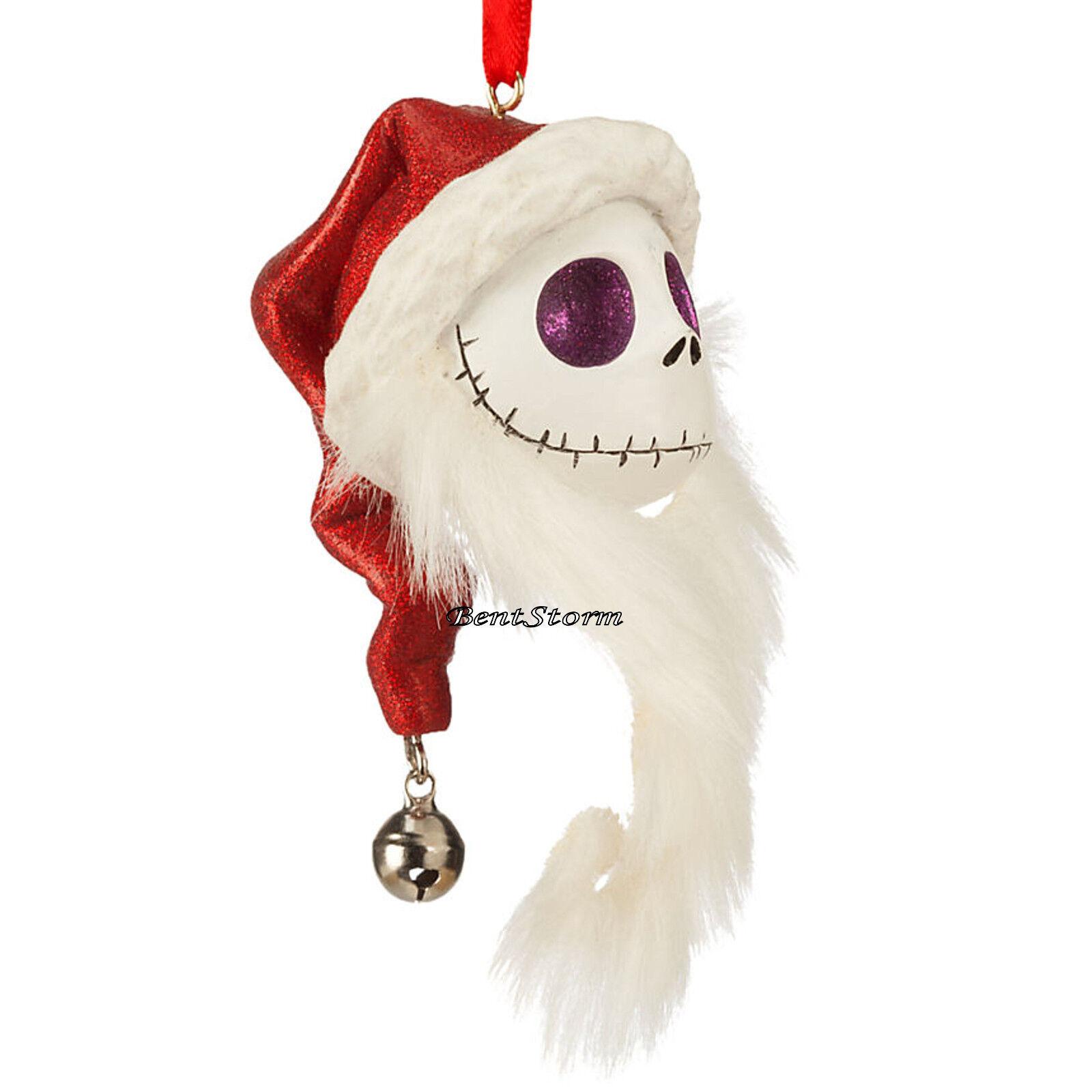 Jack Skellington Christmas Ornament: 2016 SANTA JACK SKELLINGTON ORNAMENT THE NIGHTMARE Before