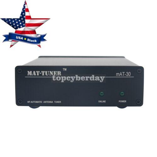 mAT-30 HF Auto-tuner 120W AUTO TUNER Automatic Antenna Ham Radio For Yeasu USA
