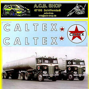 Vintage-CALTEX-Serbatoio-Camion-or-Trailer-1-24-Decalcomania