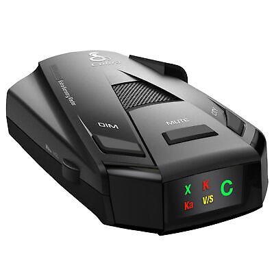COBRA ESR-755 12-Band 360 Degree Radar / Laser Police Detector 5 Level Signal