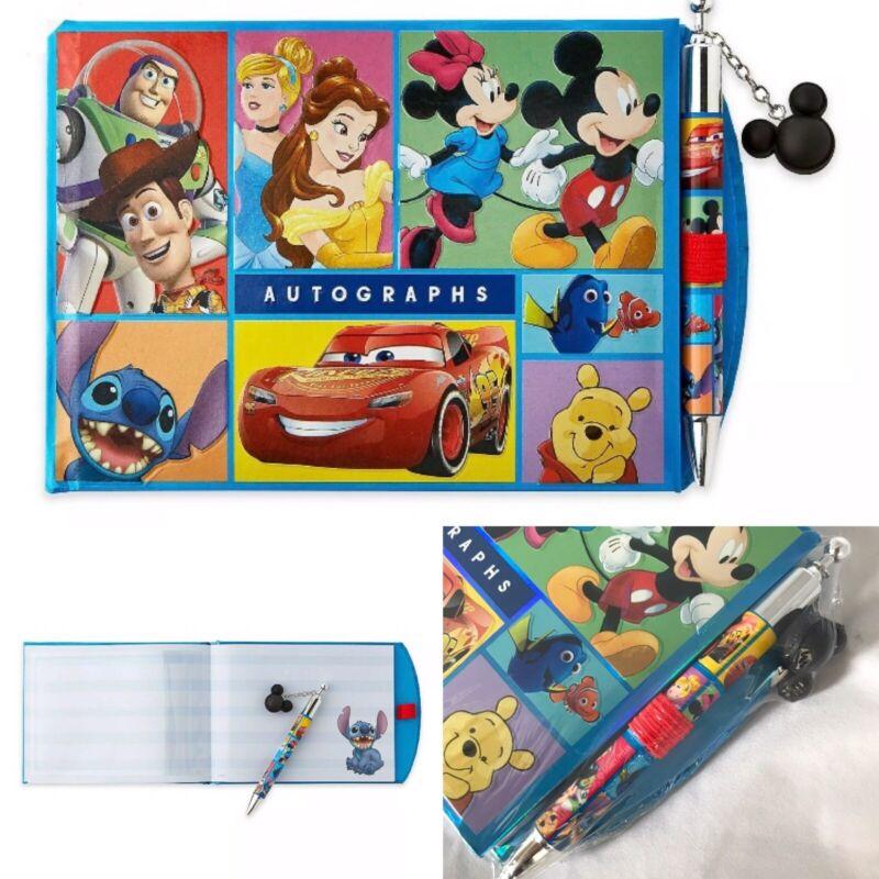 Disney Store World Of Disney Disneyland Autograph Book and Pen New Sealed