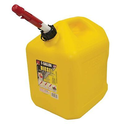 New 5 Gallon Plastic Diesel Fuel Can 765-512