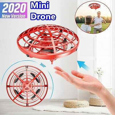 Mini Drone Induction Quad Levitation Hand Operated Helicopter UFO Kids Gift Toys