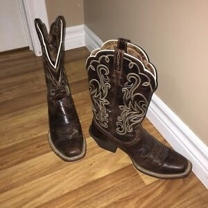 Ariat cowgirl boots $175 obo