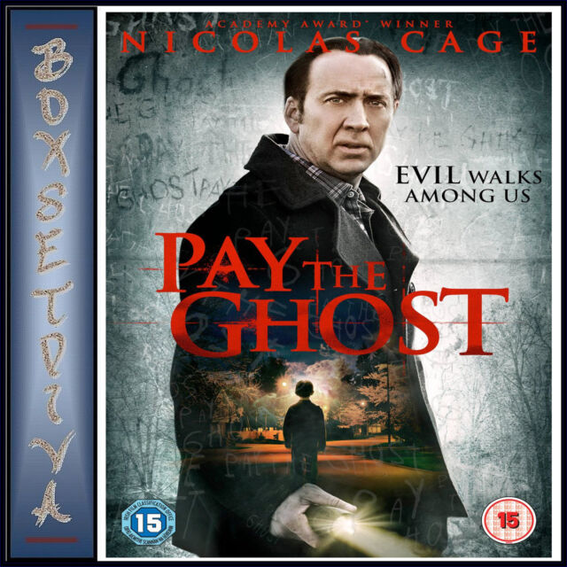 PAY THE GHOST - Nicolas Cage *BRAND NEW DVD***